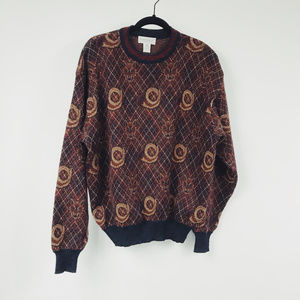 VTG TRICOTS Wolf Merino Wool Sweater D23